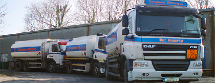 Cosyhome Heating Delivery Trucks