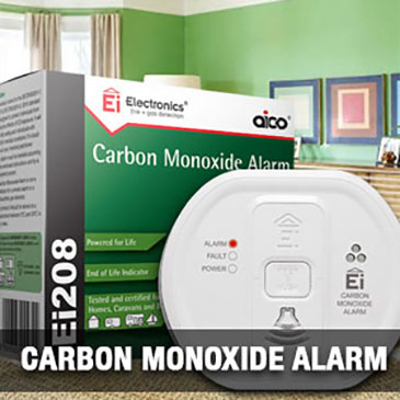 Carbon Monoxide Alarms supplied by Cosy Home Heating